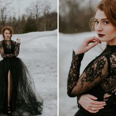 Good and bad things to bride wear black dress